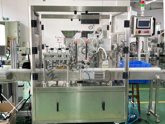 自动检测试剂灌装封口机生产线