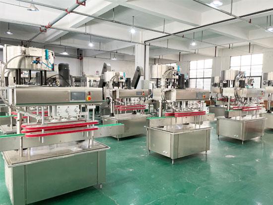 自动食品灌装生产线